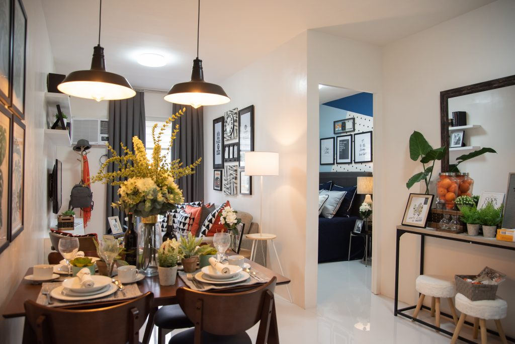 1 Bedroom Unit Model Showroom of a condo for sale