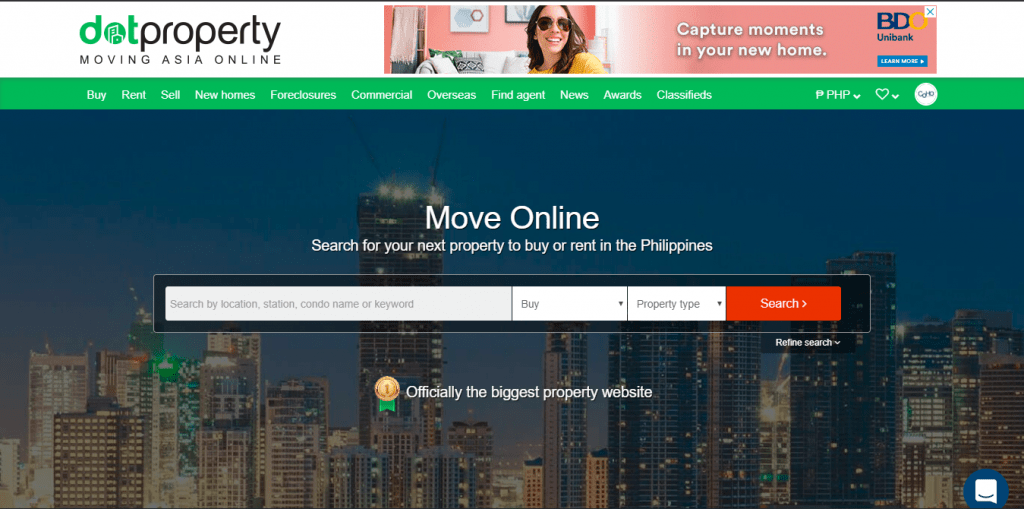dotproperty condo for sale moving asia online website home page with move online text - condo for sale
