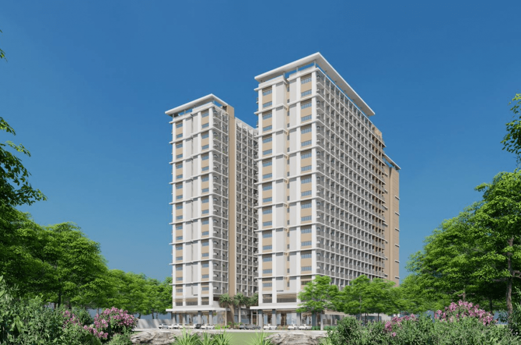 condo for sale tall nude building with two towers in taguig