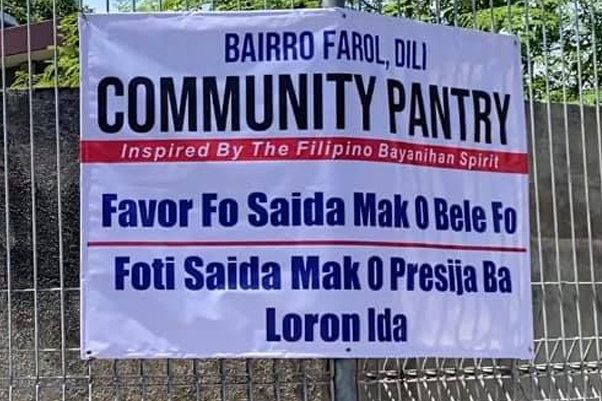 Condo in the Philippines - COHO By Vista Land - Timor Leste Community Pantry