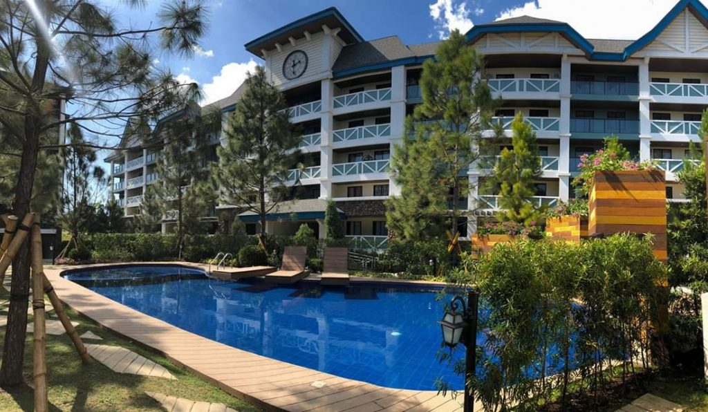 Premium Condo in Tagaytay - Pine Suites - A Vacation Home Condo - Swimming Pool Amenity